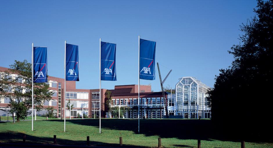 AXA Hauptgebäude Zinsen