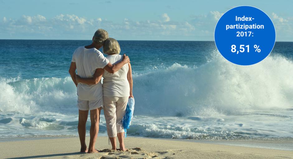 8,51 % Rendite für den Index der Urlaubsrente
