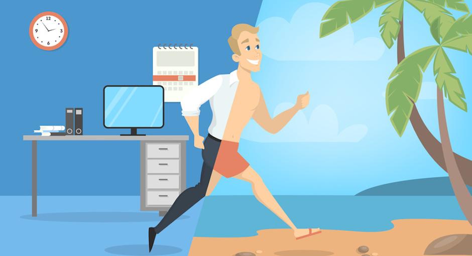 Büro Urlaub Tipps