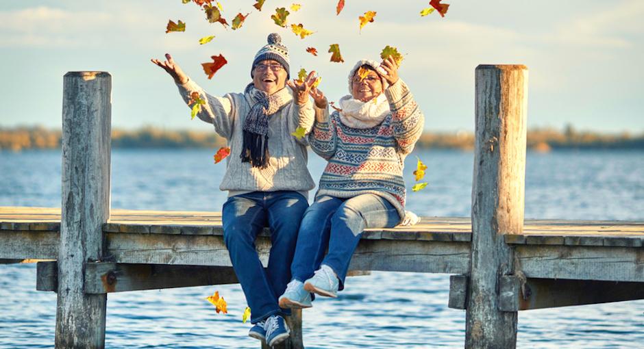 sich auch im Alter eine Weltreise leisten können